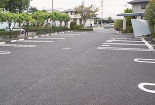 25台分の駐車スペース